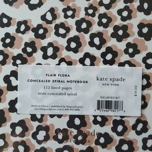 kate spade Office - NWT Kate Spade  Flair Floral Notebooks 2 sets